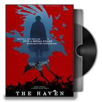 The Raven DVD Folder Icon by Omegas82128