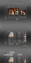 Windows Media Player concept by astoyanov