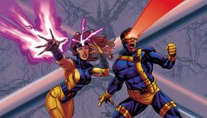 X-Men Scott and Jean by RCarter