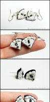 Oreo Pie Slice Earrings by Bon-AppetEats