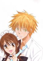 Usui and Misa by scooterbrown
