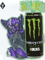 Alice Monster Badge Trade by ZinStone