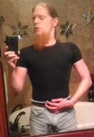 viking in tight black shirt by Danny420Dale