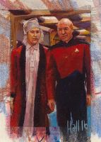 star trek tng 2 sketch card 7 by charles-hall