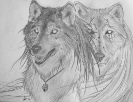 Always There by BLACK-WOLF- by Weres-United-Club
