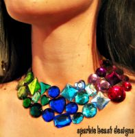 Berry Collar Necklace by Natalie526