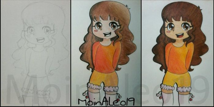 Me Cute? || Request#3 || WIP by MoinAleo19