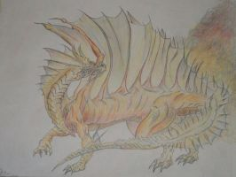 Golden Dragon by PonxZixRomanticeyx