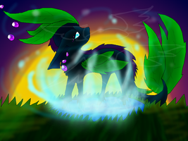 Contest Entry the Hybrid Eon by TheLonelyQueen