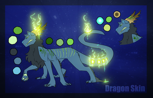 Dragon Skin -- Hatched Adopt by the3Ss