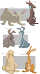 Watership Down charas part5 by shuvuuia