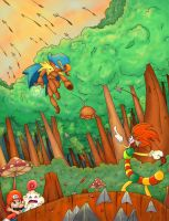 Beware the Forest Mushrooms by Loopy-Lupe