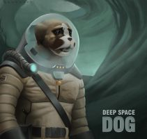 Deep Space Dog by benscott81