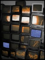 TV Explosion by Siccie
