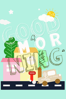 good morning @ typography by SuiBlueSheep