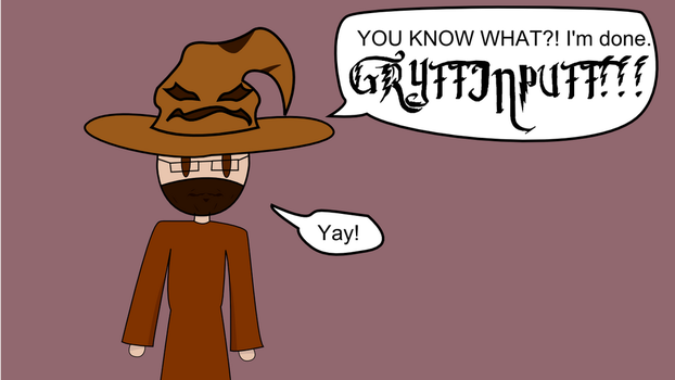 Drunk Sorting Hat 3 by technofairyfolclor