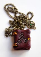 Book Pendant II by Nabila1790
