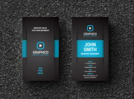 Creative Corporate Business Card by nazdrag
