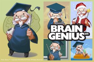 Brain Genius by Micchu