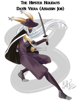 Day 8: Assassin Viera by Pluffers