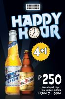 Happy Hour Layout Design by nikolaihoe27