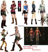 Best Gamegirl Outfits by Bahlinka