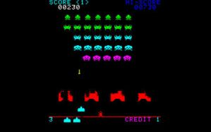 Space Invaders wallpaper by gfoyle