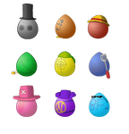 OP Adopts: Eggs by EzzyAlpha