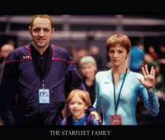 The Starfleet Family by calimer00