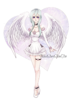 Little fluffy Angel by BlackStarsShineToo