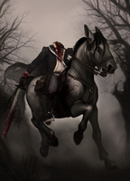 Headless Horseman by PixiePowderPuff