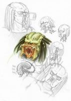 AVP scribbles by Murielle