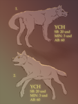 Ych 1(open) Ych 2(closed) by Vranokot