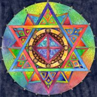 Mandala 2 Oct 11 by Artwyrd