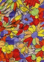 Flowery Pattern 2 by radelaidian-stock
