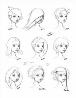 Hair Styles Vol 16 by ron-guyatt