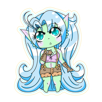 Gift for Kimmymanga, its Umi by LilMissStitches