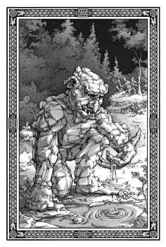 The Rock Troll by MikeSchley