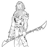 Ancient Predator Inked by viral-reject