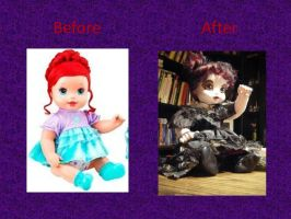 Doll Transformation by mer-wench
