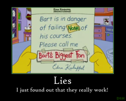 Simpsons - Lies by DSH90