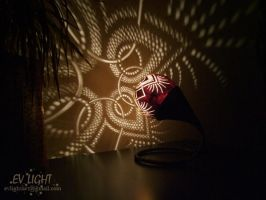 FLORUAN gourd lamp night by EvaLightArt