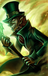 Commission- Evil Leprechaun by Lilith-the-5th