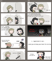 Yandere Cas and Tsundere Dean by Nile-kun