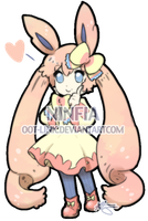 Ninfia Gijinka- CLOSED for Adopt by OOT-Link