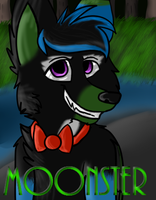 Moonster Badge by Punk-Mutt