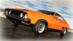 1973 Ford Falcon GT 351 by SamCurry