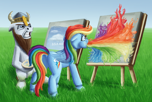 Typical Art-Battle by Sa1ntMax