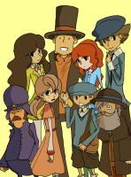 Layton and Co. by izumii