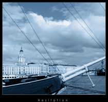 Color series - Blue by hesitation